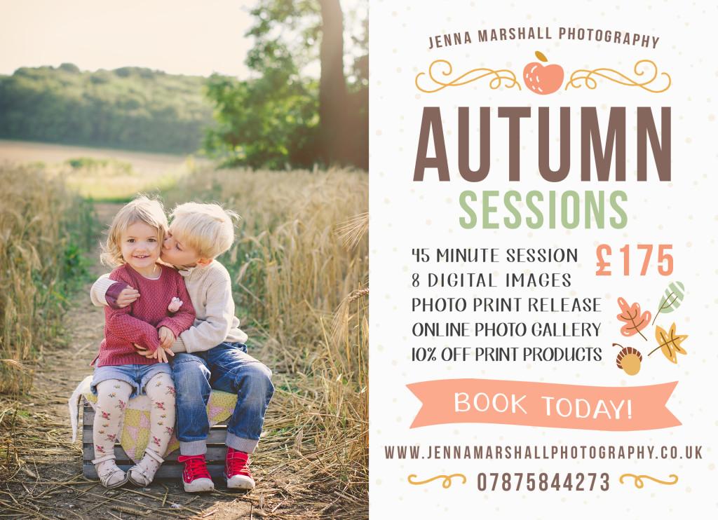 Autumn Marketing Sessions
