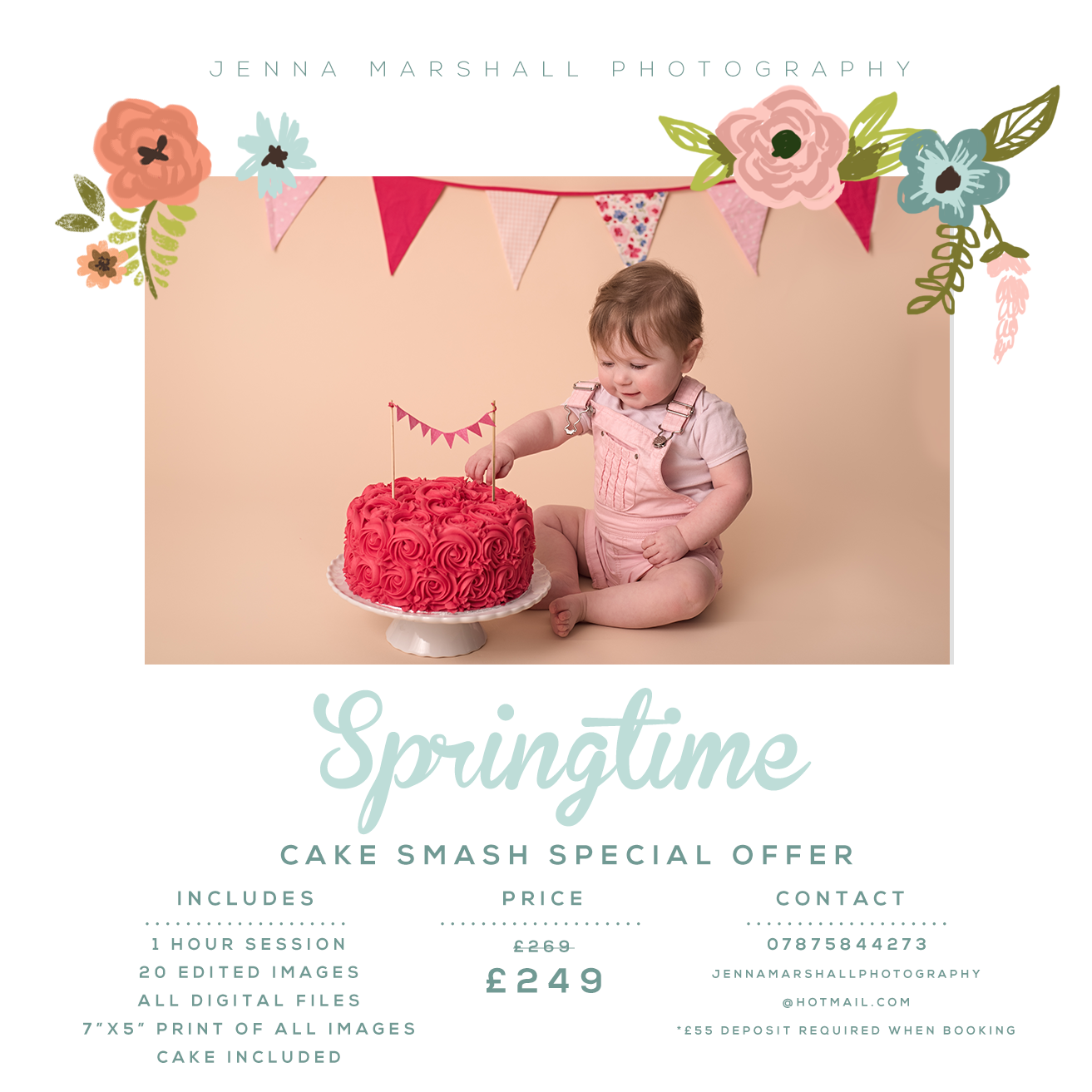 SPRING--CAKE-SMASH-jenna-marshall-photography-stevenage